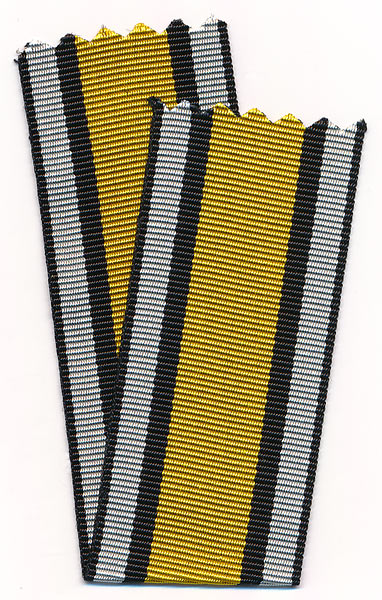 Y424  Prussia, ribbon to Medals of Napoleonic Wars 1813, 1814, 1815