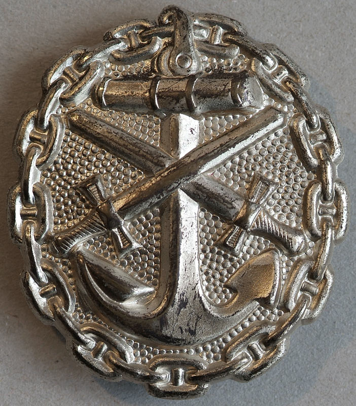 VWA 1918 Silver Wound Badge, Imperial Navy